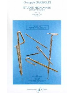 GARIBOLDI Etudes mignonnes flûte