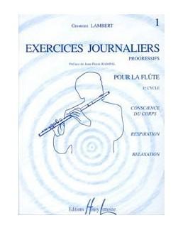 LAMBERT exercices journaliers vol 1