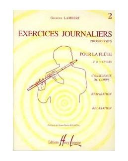 LAMBERT exercices journaliers vol 2