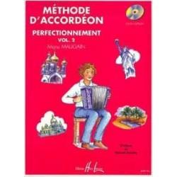 Méthode d'accordéon MAUGAIN vol 2