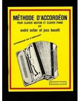 Méthode accordéon BASELLI jaune