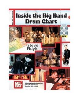 Inside the big band drum chart avec CD + DVD