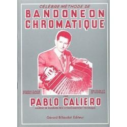 Célèbre méthode bandonéon chromatique Pablio CALIERO