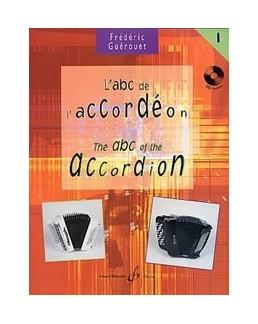 ABC de l'accordéon GUEROUET vol 1 avec CD