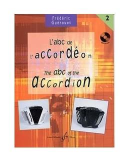 ABC de l'accordéon GUEROUET vol 2 avec CD