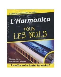 L'harmonica pour les nuls avec CD