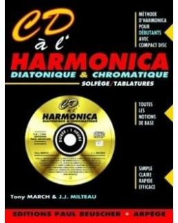 CD à l'harmonica diatonique et chromatique MILTEAU MARCH