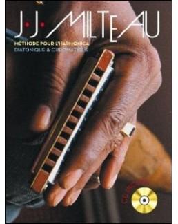 Méthode pour l'harmonica diatonique et chromatique MILTEAU avec CD