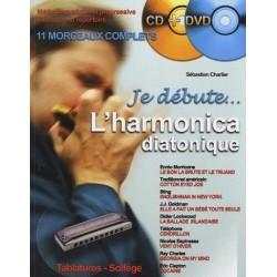 Je débute l'harmonica CHARLIER avec CD et DVD