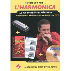 Kit débutant harmonica CHARLIER avec DVD