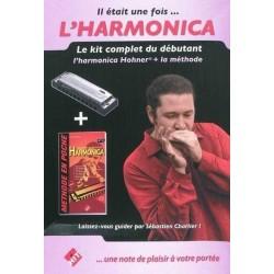 Kit débutant harmonica CHARLIER