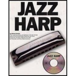 Jazz Harp harmonica avec CD Richard HUNTER