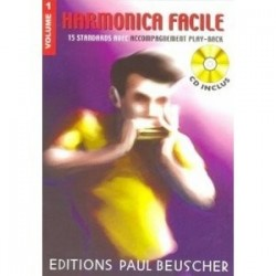 Harmonica facile vol 1 avec CD