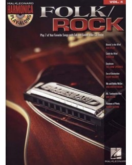 Harmonic play-along FOLK/ROCK vol 4 avec CD