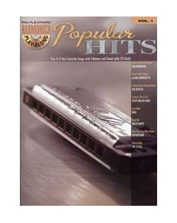Harmonica play-along POPULAR Hits avec CD
