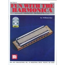 Fun with harmonica avec CD et DVD