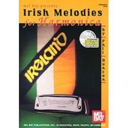 Irish melodies for harmonica