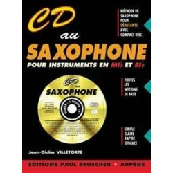 CD au saxophone VILLETORTE