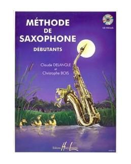 Méthode de saxophone pour débutants DELANGLE BOIS avec CD