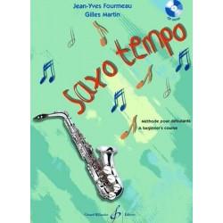 Saxo Tempo Jean-Yves FOURMEAU vol 1 avec CD