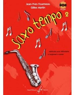Saxo Tempo Jean-Yves FOURMEAU vol 2 avec CD