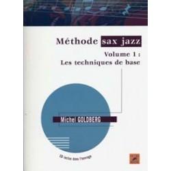 Méthode de jazz Michel GOLDBERG vol 1 avec CD (nouvelle édition)