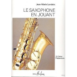 Le saxophone en jouant JM LONDEIX vol 2