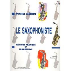 Le saxophoniste Michel MERIOT avec CD
