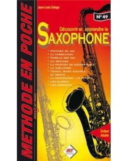 MUSIC EN POCHE méthode saxophone JL DELAGE