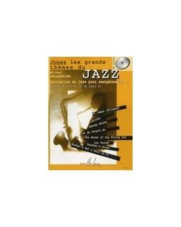 Jouez les grands thèmes du jazz PELLEGRINO vol 1 sax alto avec CD