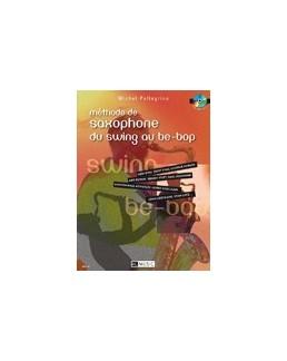 Méthode de saxophone du swing au be-bop PELLEGRINO avec CD