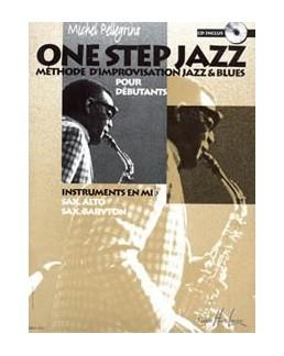One step jazz PELLEGRINO sax alto avec CD