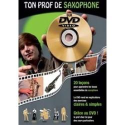 TON PROF Saxophone avec DVD