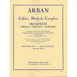 Célèbre méthode complète de trompette ARBAN vol 1
