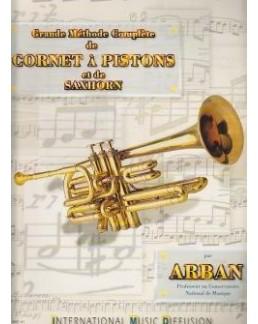 Grande méthode complète de cornet à pistons ARBAN