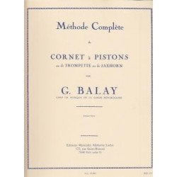 Méthode complète de cornet à pistons BALAY vol 1