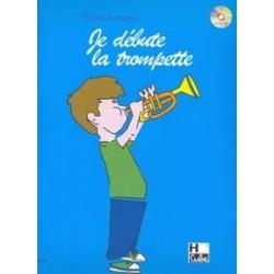 je débute la trompette Michel BOURGUET avec CD