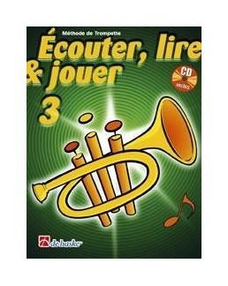 ECOUTER, LIRE & JOUER 3 trompette avec CD