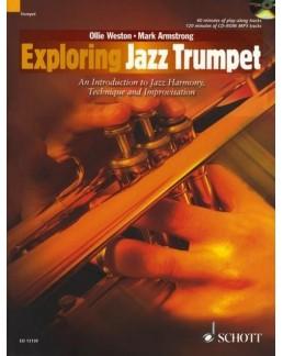 Exploring jazz saxophone trompette Ollie WESTON avec CD