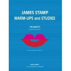 James STAMP Warm-upS + studies avec 2 CD