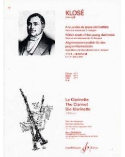 KLOSE A la portée du jeune clarinettiste vol 1