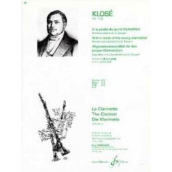 KLOSE A la portée du jeune clarinettiste vol 2