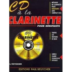 CD à la clarinette Eric FREYSSINIER