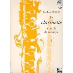La clarinette à l'école de musique MARGO vol 1 avec CD