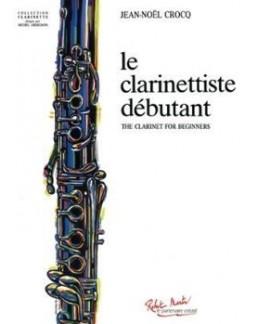 Le clarinettiste débutant Jean-Noel CROCQ