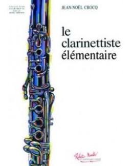 Le clarinettise élémentaire Jean-Noël CROCQ