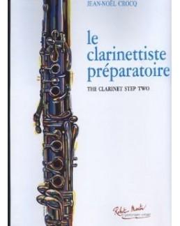 Le clarinettiste préparatoire Jean-Noël CROCQ