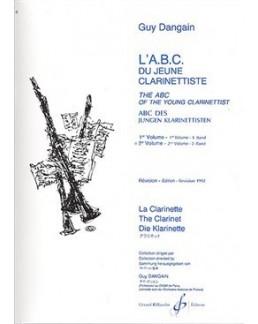 ABC du jeune clarinettiste Guy DANGAIN vol 2