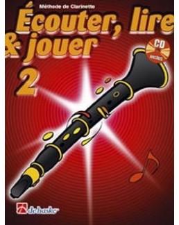 ECOUTER, LIRE & JOUER clarinette vol 2 avec CD