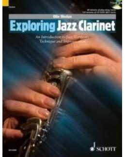 Exploring Jazz clarinet Ollie Weston avec CD
